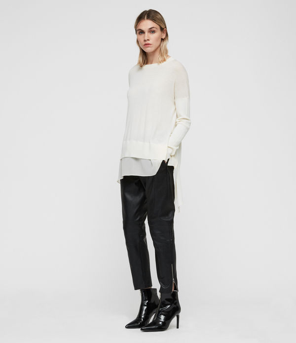 Libby Crew Neck Sweater