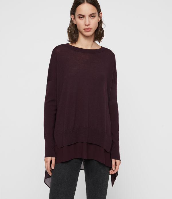 libby crew neck jumper