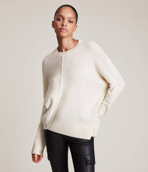 lock cashmere blend sweater