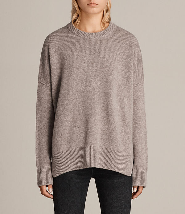 Dasha Cashmere Crew Sweater