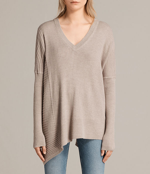 keld olivo v neck jumper