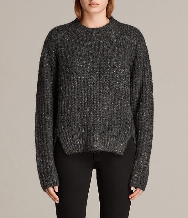 Klash Cropped Crew Sweater
