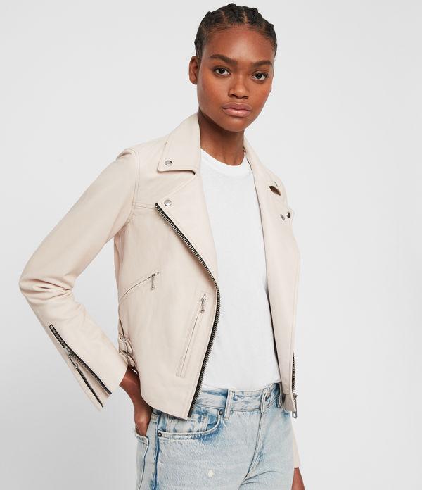 Prescott Leather Biker Jacket