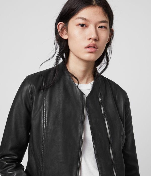 Jae Leather Blazer