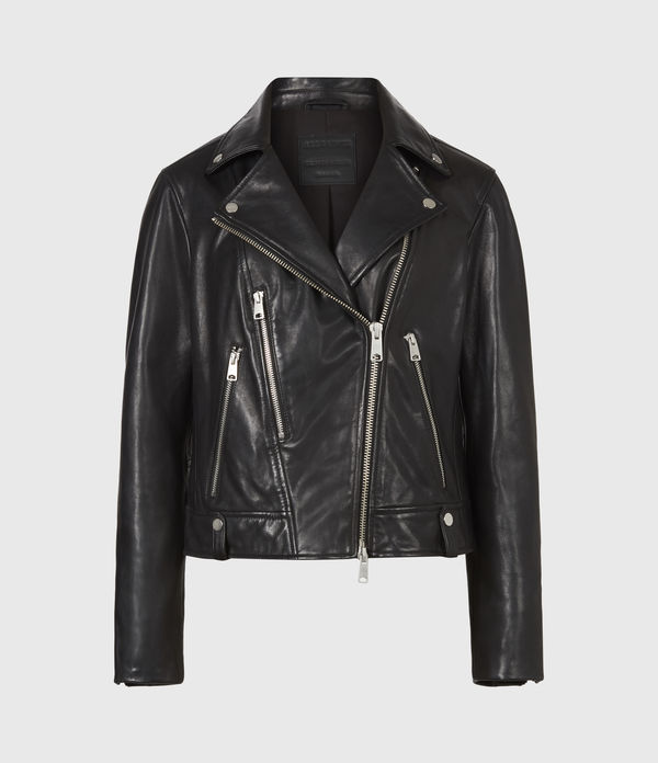 Neko Leather Biker Jacket