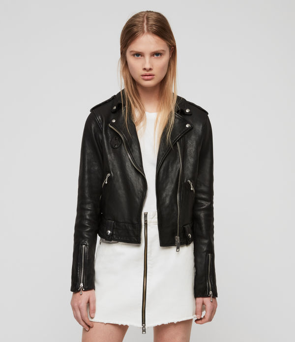 Vixon Leather Biker Jacket