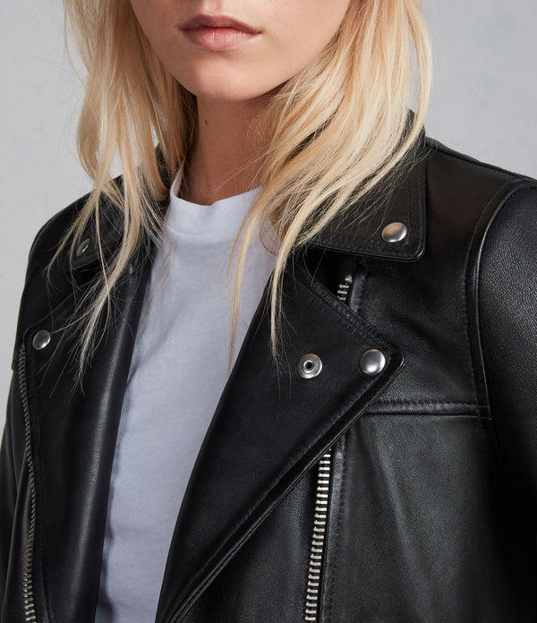 Prescott Leather Biker Jacket