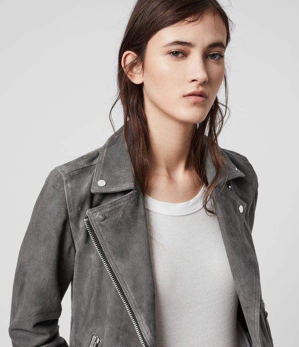 Suede Dalby Biker Jacket