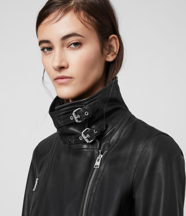 Bales Leather Biker Jacket