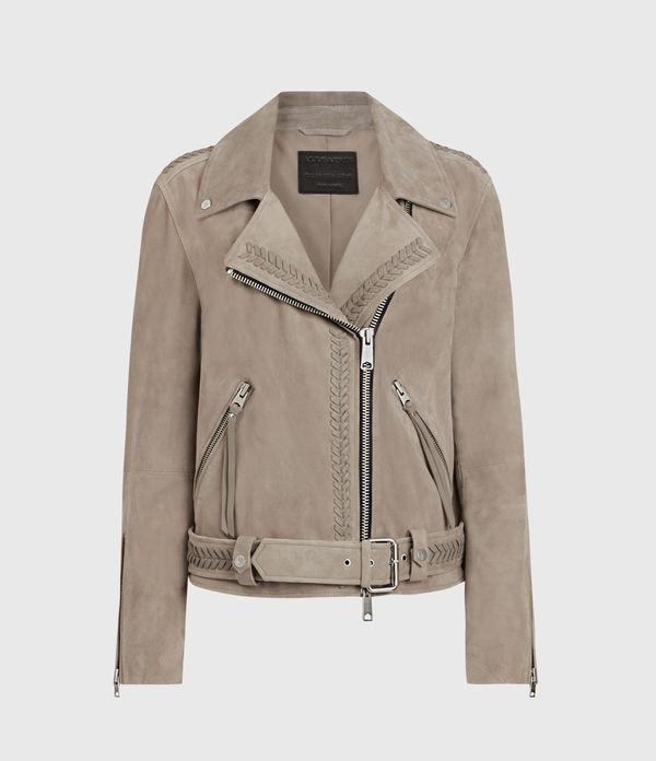Rosen Suede Biker Jacket
