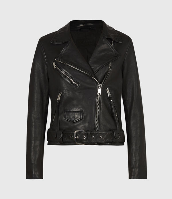 Griffen Leather Biker Jacket