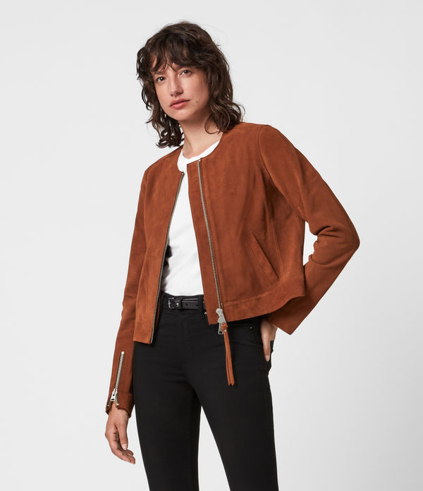 Aster Suede Jacket