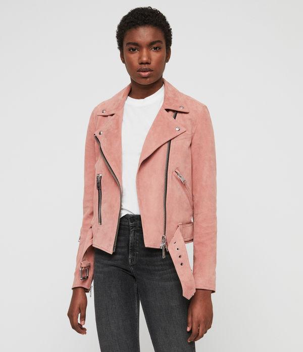 Suede Gidley Biker Jacket