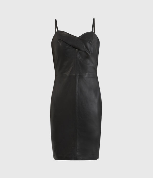 Orla Leather Dress