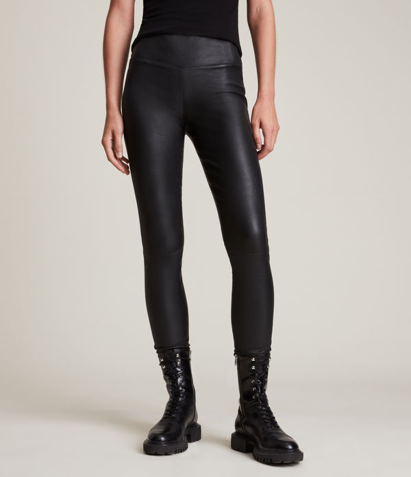 Cora Leather Leggings