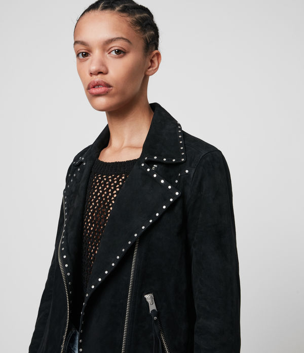 Dalby Western Leather Biker Jacket
