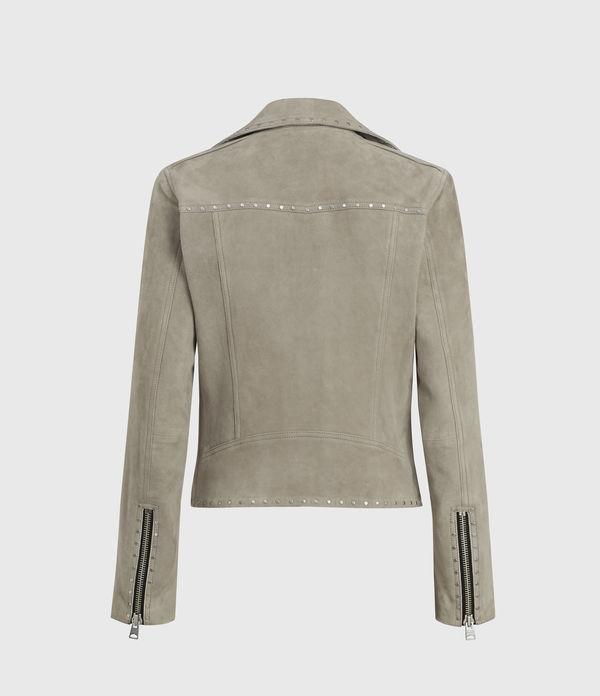 Dalby Western Suede Biker Jacket