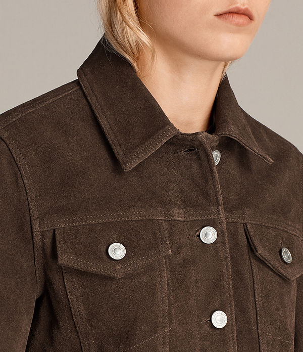 Trucker Suede Jacket