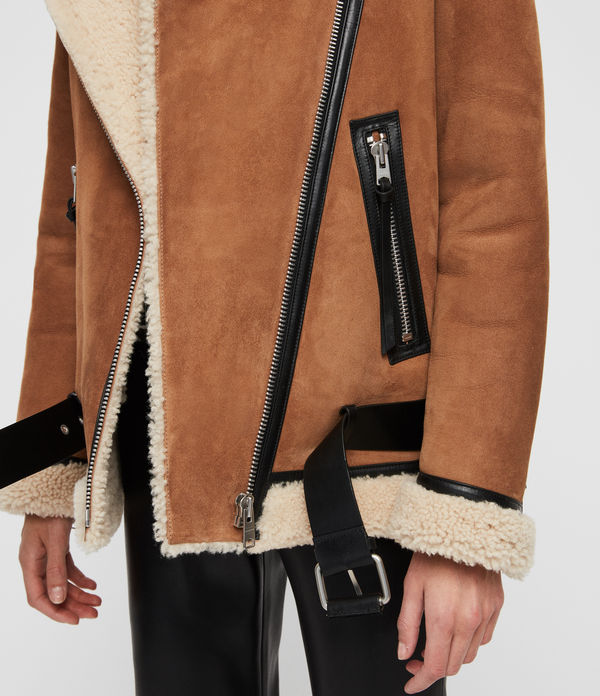 Rei Shearling Jacket