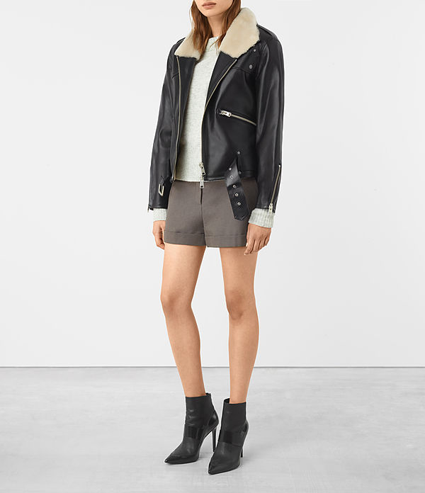 Mcguire Leather Biker Jacket