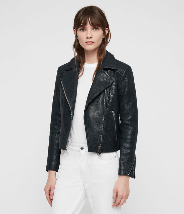 Pataya Leather Biker Jacket