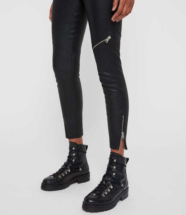 Kriva Leather Leggings