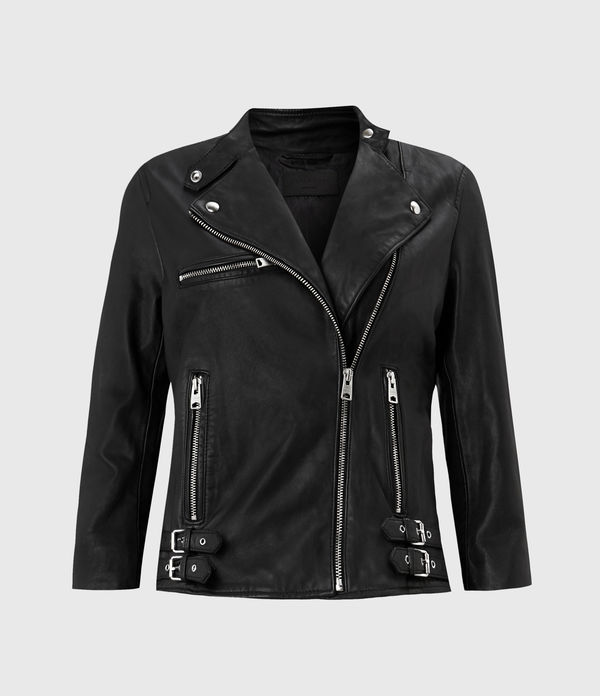 Turne Leather Biker Jacket