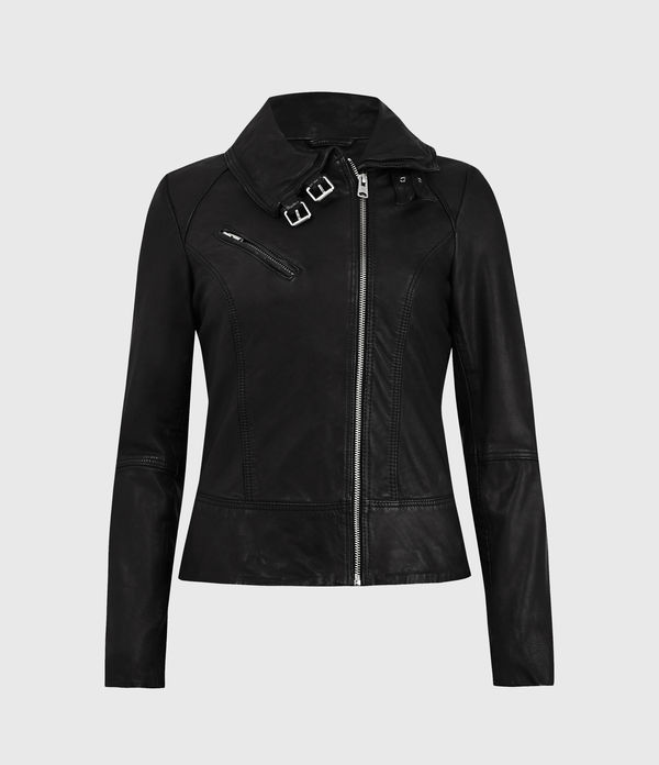 Belvedere Leather Biker Jacket
