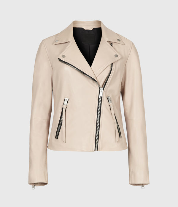 Dalby Leather Biker Jacket