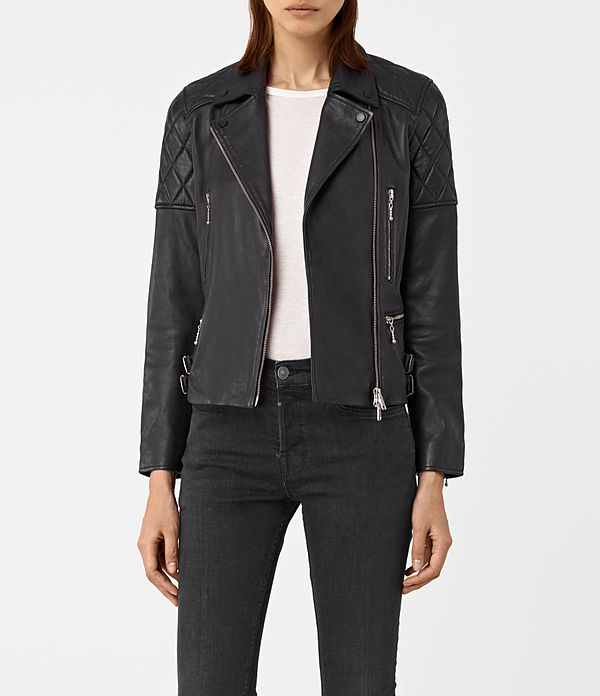 Armstead Leather Biker Jacket
