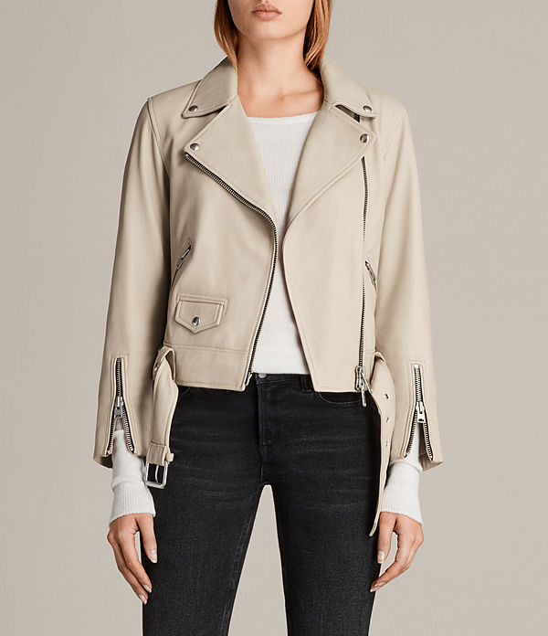 Cole Leather Biker Jacket