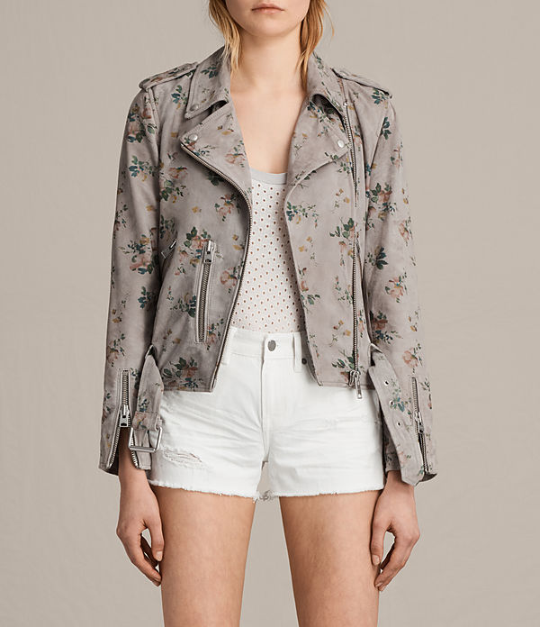 Meadow Balfern Suede Biker Jacket
