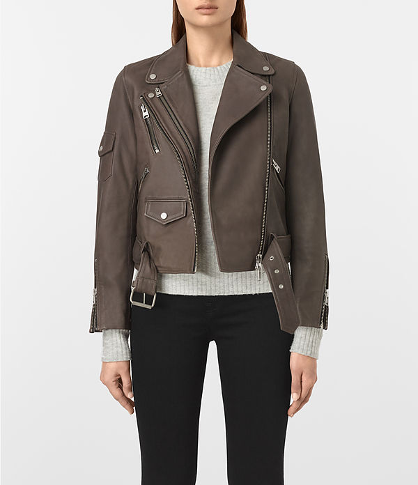 harland leather biker jacket