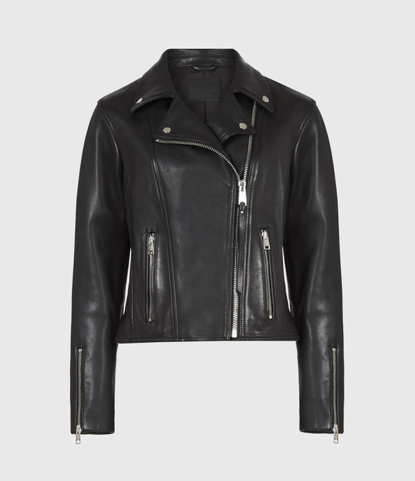 Neve Leather Biker Jacket