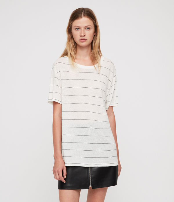 t-shirt iris stripe