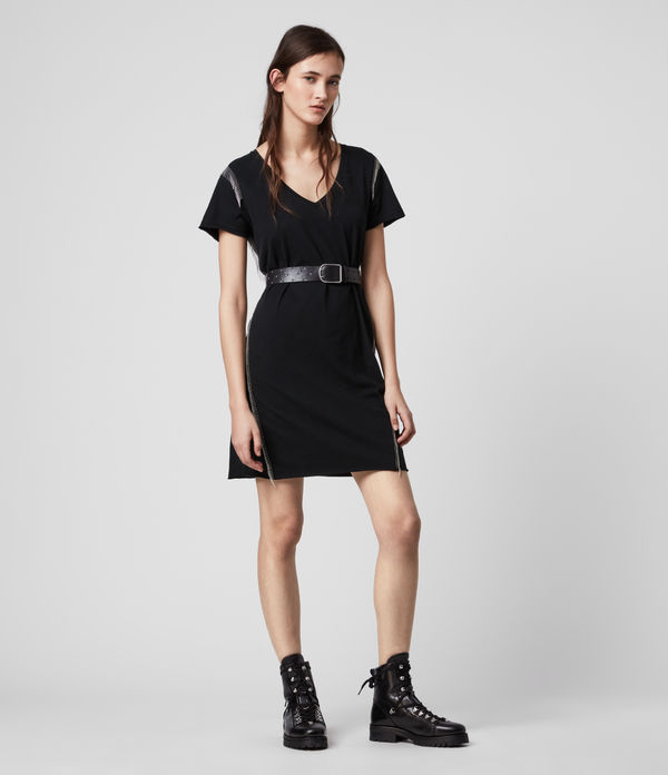 Emelyn Chain Tee Dress