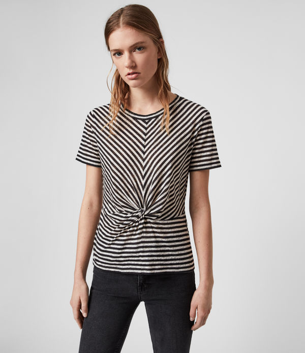 Jess Stripe Short Sleeve T-Shirt