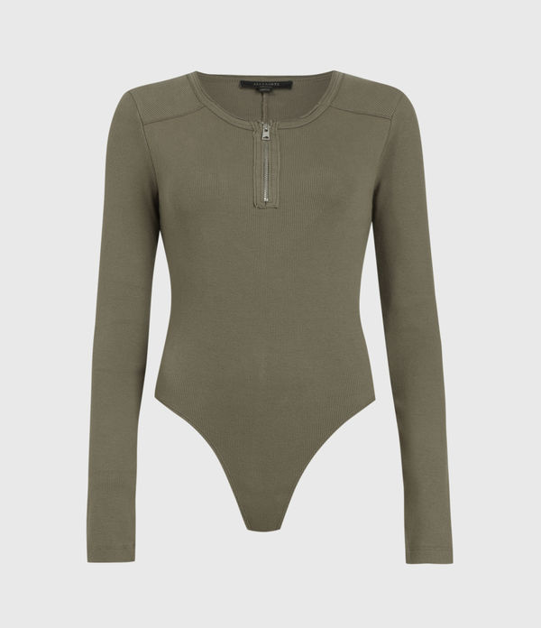 Alicia Long Sleeve Bodysuit