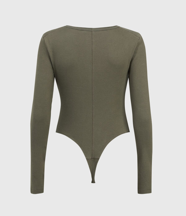 Alicia Long Sleeve Bodysuit