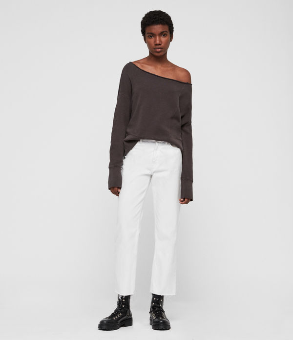 Lando Off Shoulder Sweatshirt