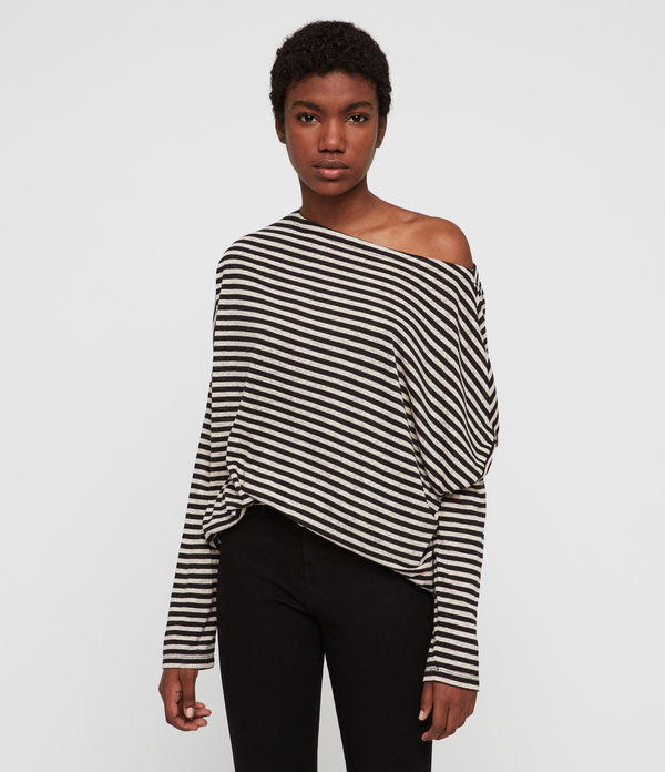 rita stripe t-shirt