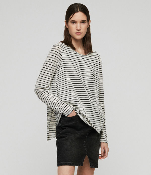 Playera Daisy Stripe