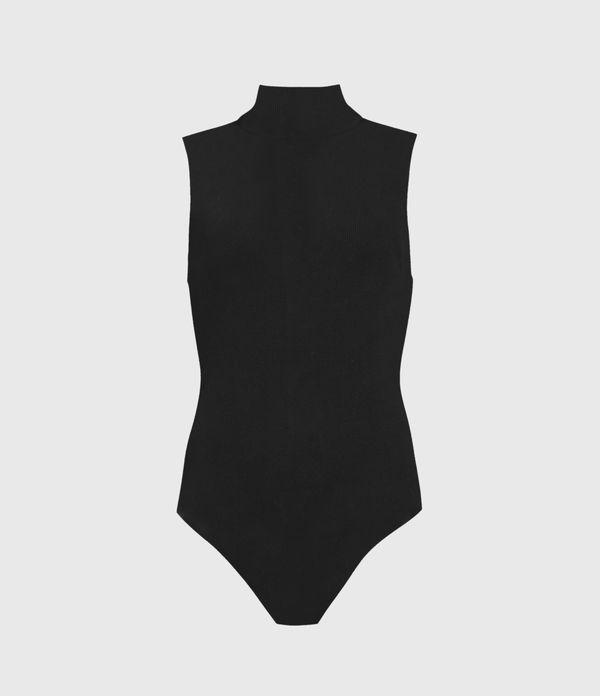 Raffi Sleeveless Roll Neck Bodysuit