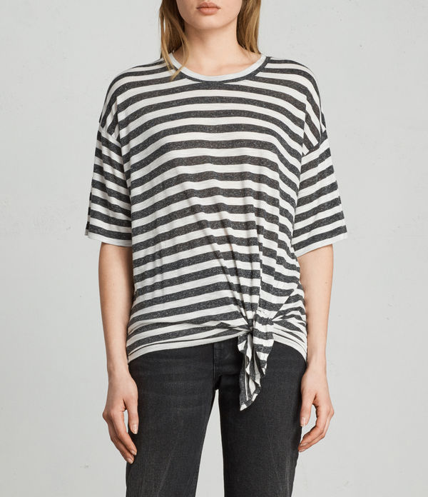 meli stripe t-shirt