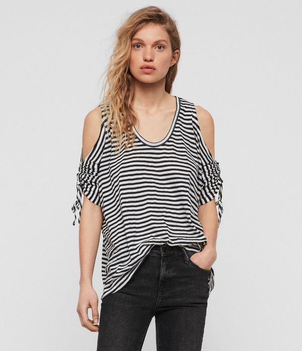 Playera Harper Stripe