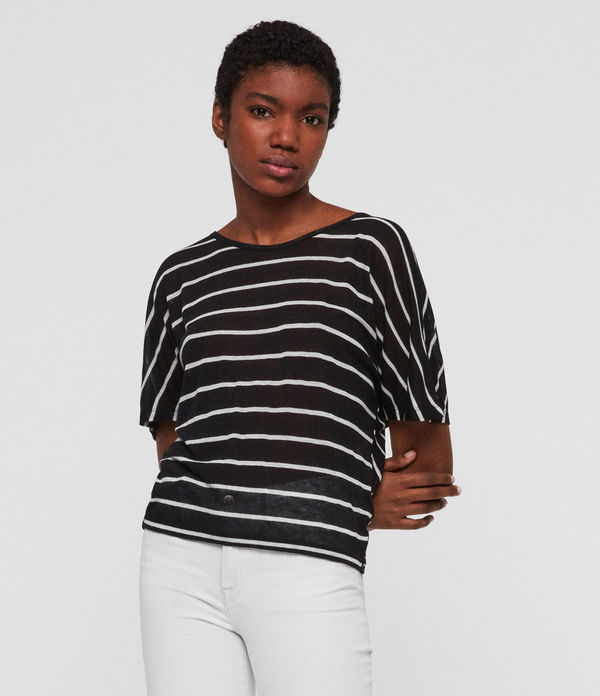 Nimala Stripe Reversible T-Shirt