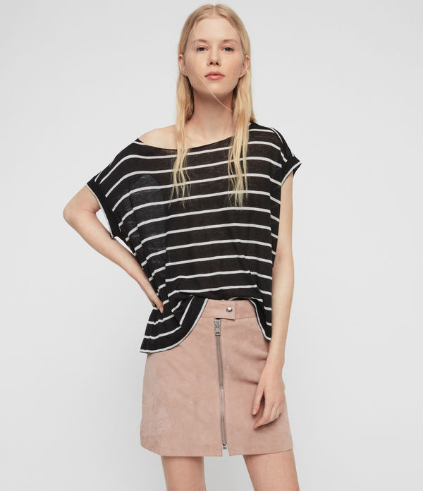 t-shirt pina stripe