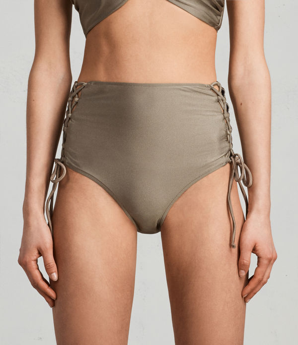 Lazo Metallic Highwaist Bottom
