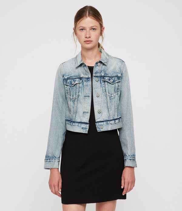 hay cropped jacket