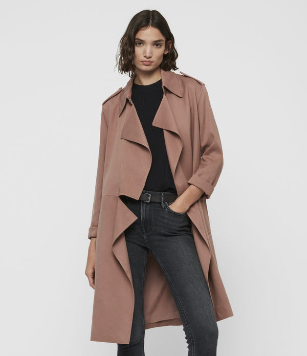dee9eab68 ALLSAINTS UK: Women's Coats & Jackets, shop now.